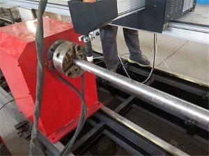 מכונה חותך צינורות פלזמה מתכת מסוג 2018 חדש, מכונת חיתוך צינור מתכת cnc