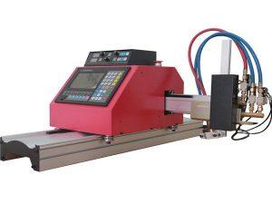 חמה למכירה מכונת חיתוך פלזמה cnc להבת gantry ניידת עם thc לפלדה