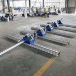 2 * 3 m סין ניידת מכונת חיתוך פלזמה בעלות נמוכה זולה קטנה וזולה