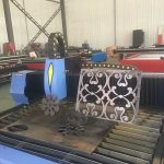 חותך צינור אור אוטומטי / מכונת חיתוך פרופיל צינור cnc / חותך פלזמה צינור אור