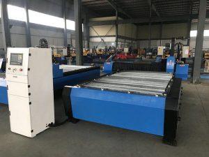 סין 1325 1530 בקר גובה לפיד זול פלזמה huayuan פלדת מתכת חיתוך מכונת חיתוך פלזמה cnc