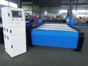 מכונת חיתוך פלזמה סין cnc יתר 125a גיליון מתכת עבה 65a 85a 200a אופציונלי jbt-1530