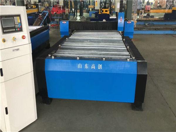 """סין Huayuan 100A פלזמה חיתוך מכונת CNC 10 מ""""מ צלחת מתכת"""