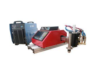 עלות נמוכה מכונת חיתוך CNC FlamePlasma ניידת במשקל קל