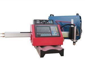 מכונת חיתוך פלזמה CNC ומכונת חיתוך גז אוטומטית עם מסילת פלדה