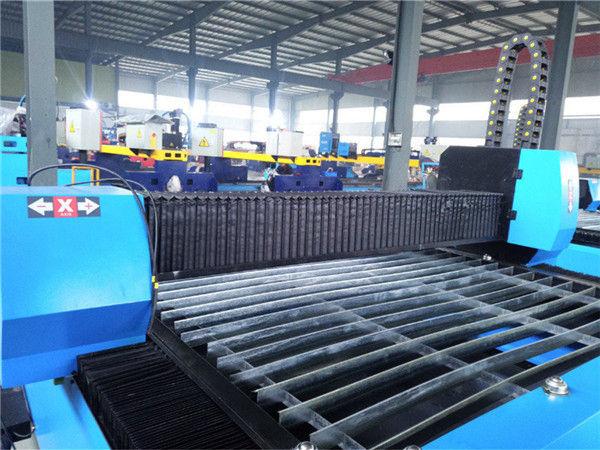מעבד וכלכלי מכונה חיתוך פלזמה CNC ניידת לעיבוד ביצועים דיוק גבוהה Zk1530