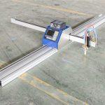 חיתוך פלדה / מתכת בעלות נמוכה מכונת חיתוך פלזמה cnc 1530 ג'ינאן מיוצאת cnc ברחבי העולם