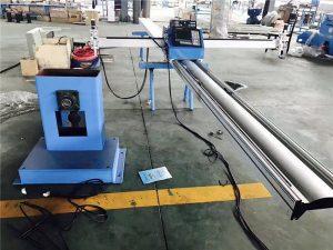 פרופיל צינור cnc ומכונת חיתוך צלחת 3 ציר