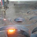 אישור ce לפיד חיתוך להבה נייד מכונת חותך פלזמה cnc במפעל בסין