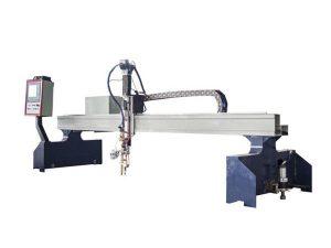 מכונת חיתוך פלזמה cnc ולהבה למתכת שטוחה וצינורית