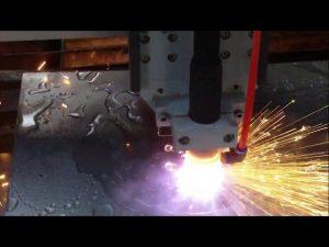 מכונת חיתוך להבת פלזמה cnc עם קירור מים למכירה חמה