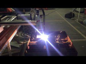 מכונת חיתוך פלזמה גז cnc בעלות נמוכה